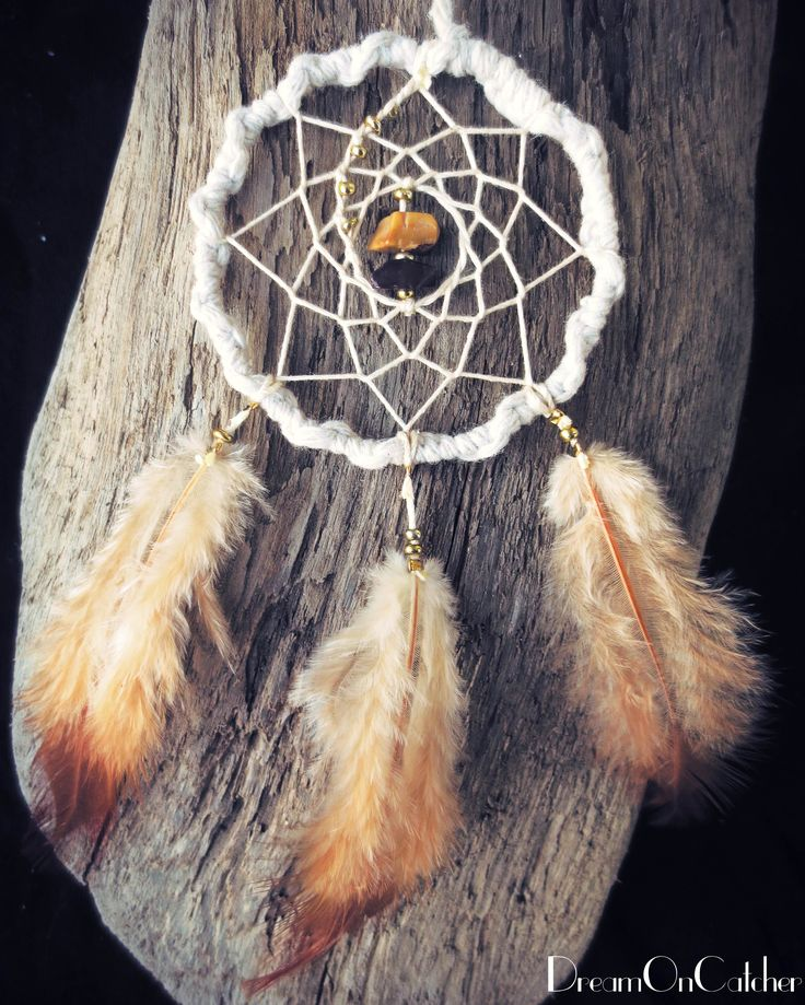 It's coming soon on Etsy!  White DreamCatcher with stylish stones and feather. dreamoncatcher.nzm@gmail.com