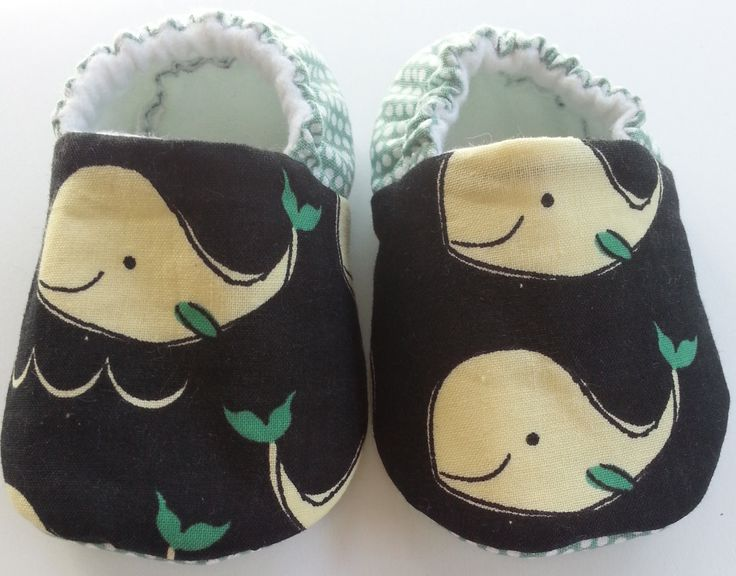Whale Baby Boy slippers