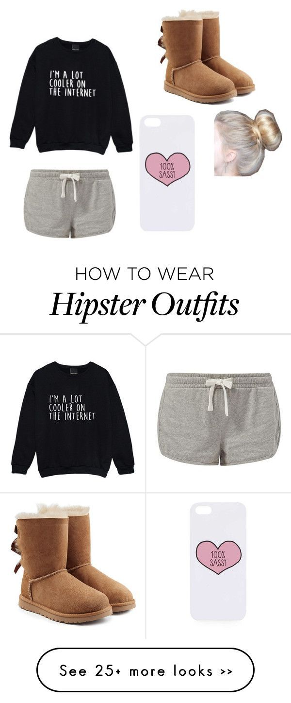 Chill by moonhauntedmyocean on Polyvore featuring UGG Australia and Topshop