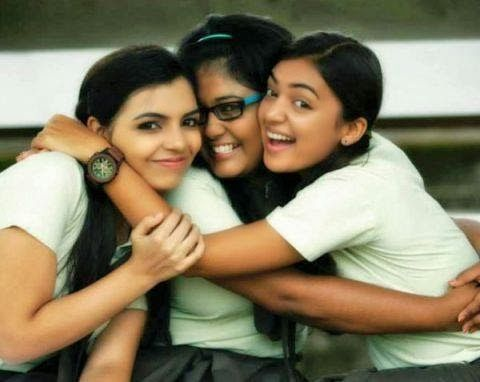 Nazriya Nazim With her Friends