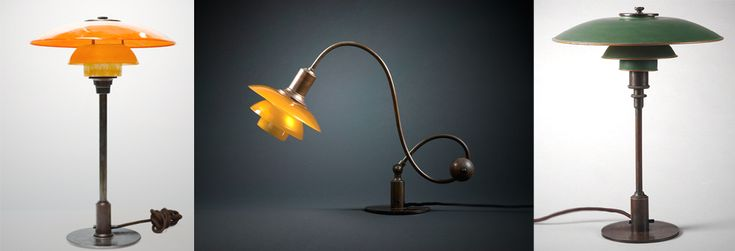 Pre 1940's original PH Lamps