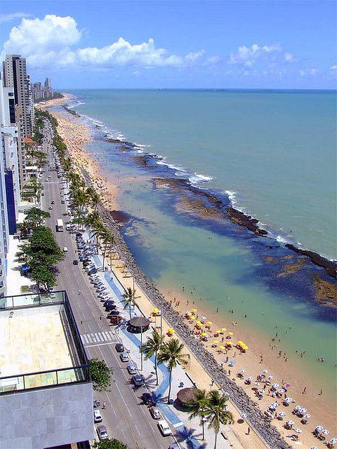 Praia de Boa Viagem / Boa Viagem beach, Recife, PE