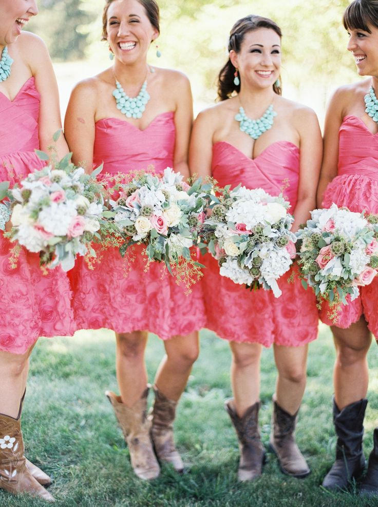 317 best Rustic Wedding Bridesmaids Dresses images on Pinterest ...