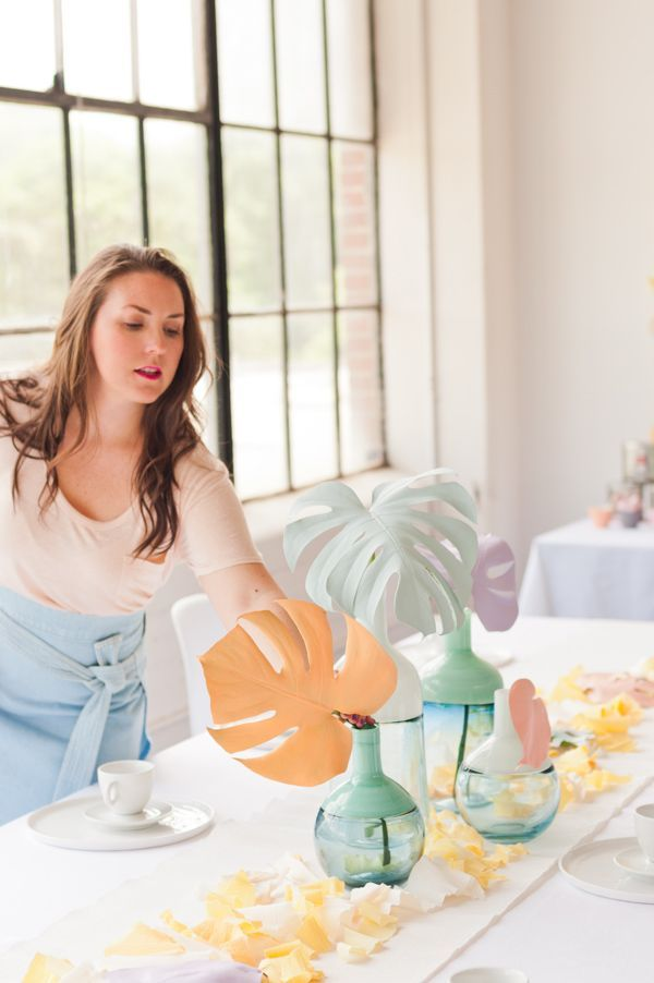 A Pastel Mother's Day Brunch Filled with DIY Party Ideas