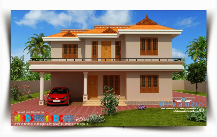 Home design blogs india house q for Small indian house images