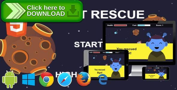 [ThemeForest]Free nulled download Rocket Rescue - HTML5 Phaser Mobile Arcade Game from http://zippyfile.download/f.php?id=52768 Tags: ecommerce, arcade, asteroid, astronaut, casual, meteor, mobile, rocket, scape, ship, skill, tap, touch