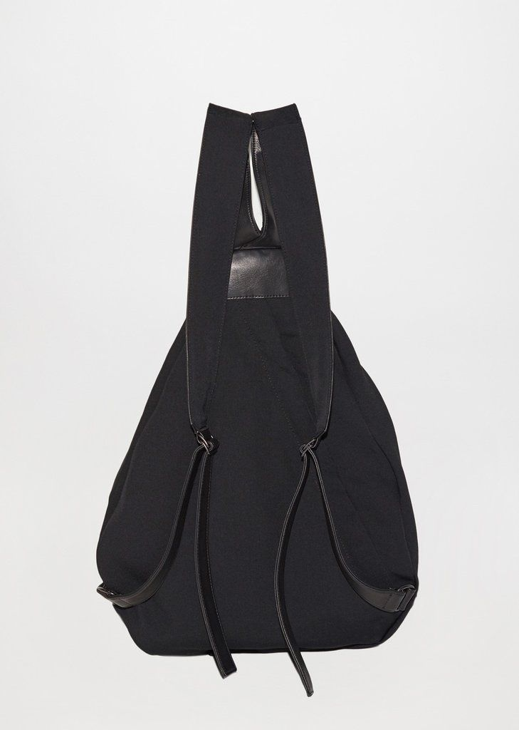 Рюкзак с поясом габардинского морщин