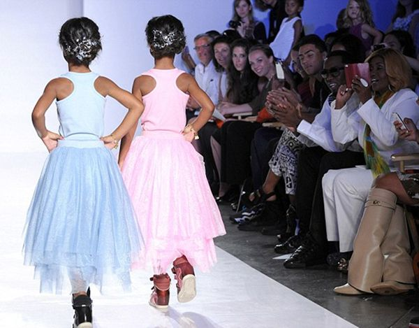 "Sean ""P. Diddy"" Comb's Daughters Rip The Runway During Kids Fashion Week – Hard 2 Knock Shoppe"