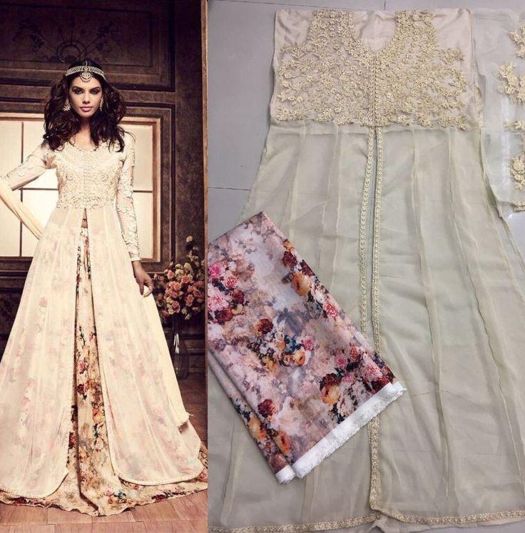Anarkali Indian Pakistani Designer Bollywood Salwar Kameez Dress Ni MIS 03. #FashionBazar01 #PartyWear #PARTYWEARWEDDINGFESTIVAL