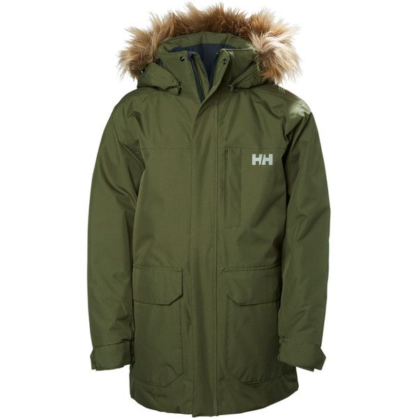 JR FELIX PARKA (235 AUD) ❤ liked on Polyvore featuring outerwear, coats, green parkas, parka coat, green coats and green parka coat