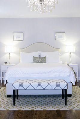 Master Bedroom, ICI Dulux Silver Cloud, Bedroom Crystal Chandelier, Ikea Alvine Ruta Rug