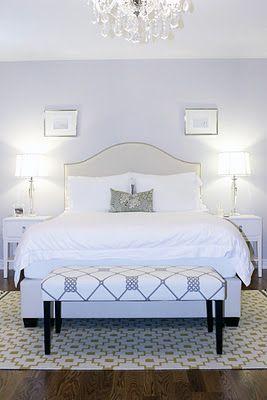 Master Bedroom, ICI Dulux Silver Cloud, Bedroom Crystal Chandelier, Ikea Alvine Ruta Rug