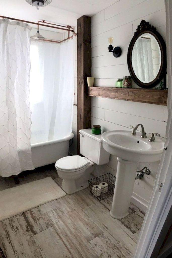 Gorgeous Farmhouse Bathroom Remodel Ideas And Design 22 Bathroom