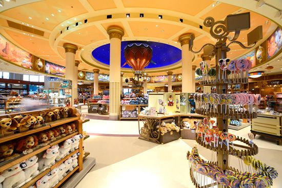 World of Disney Store Officially Opens in Disneyland Paris
