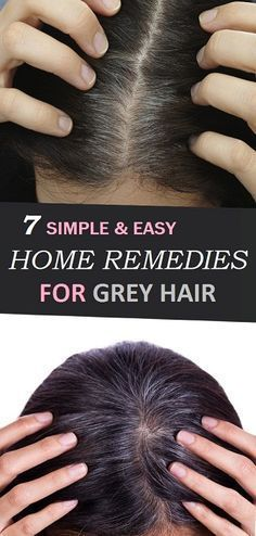Rosemary and Sage: Take half a cup of rosemary and half a cup of sage and boil in water for 30 minutes. Allow to cool for 2–3 hours then apply to hair and scalp. Leave on until it dries then shampoo off with natural shampoo. Repeat every week and eventually all grey hair will be …