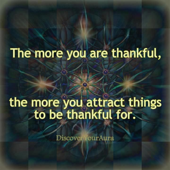 So thankful for lots of things !