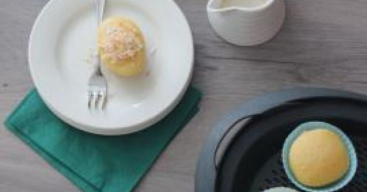Lemon Cupcakes with Citrus Syrup