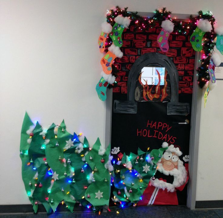 1000+ ideas about Christmas Door Decorating Contest on  ~ 003938_Christmas Decoration Ideas For Doors Contest