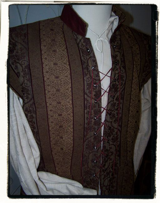 Burgundy Vineyard Tudor Renaissance Mens Lords by RecycledRockstah, $90.00