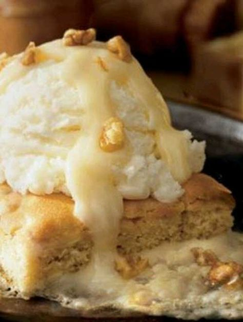 Recipe for Applebees Blondie Brownie - Keep your comfortable eating pants on and enjoy the deliciousness of these brownies from your own home with the Applebee's Blondie Brownie recipe
