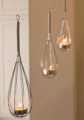 Unique lighting idea.