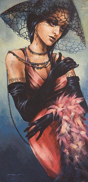 1283.jpg (292×600) La pintora Victoria Stoyanova, de Bulgaria. Cada persona tiene su ideal sobre la belleza femenina.