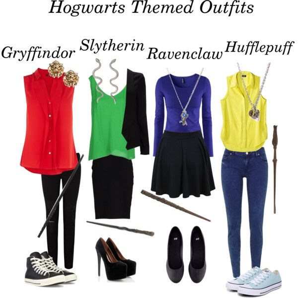 Hogwarts themed outfits by dejasaur on Polyvore