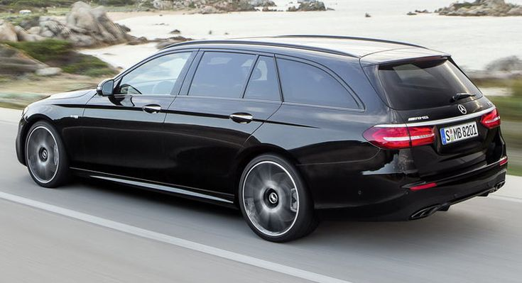 New 2017 Mercedes-Benz E-Class Estate with 396HP is called the 43AMG Variant. This model doesn't have much rivals.Hello Audi and BMW!