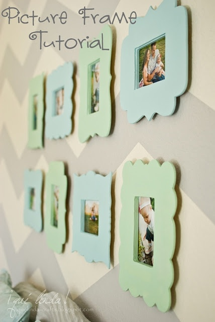 @Whenwillyou Harrison  DIY Plaque frames Looks like the tutorial I remembered had you putting frames on the back...oh well, I am going to go with the no saw method and try gluing the frames to the front with my added plexiglass frame on top, so I can change the pictures.