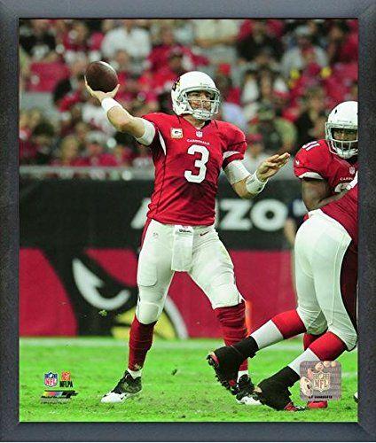 "Carson Palmer Arizona Cardinals 2016 Action Photo (Size: 17"" x 21"") Framed"
