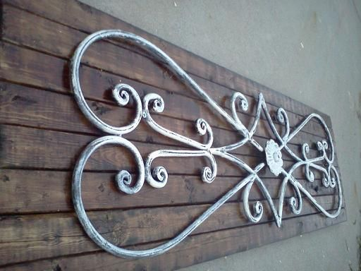Iron Wall Decor Makeover