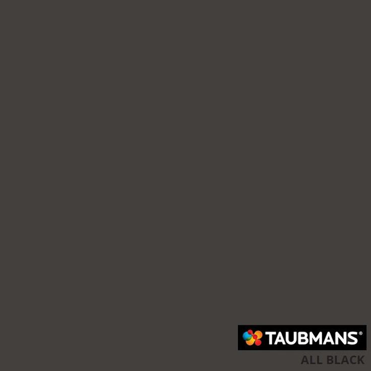 #Taubmanscolour #allblack