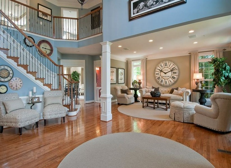 Pulte Homes New Homes Guide Love The Clocks And The Bright Blue Color