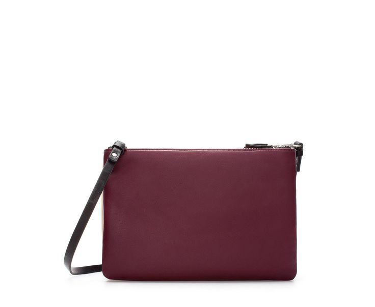 Zara Shoulder Bag With Gusset 107