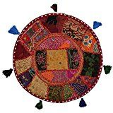 Étnico Cubre Cojines Sofá floral de Brown para la decoración: Amazon.es: Hogar