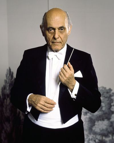 Pinning for the suit  Sir Georg Solti - born in Budapest (1912 - 1997)