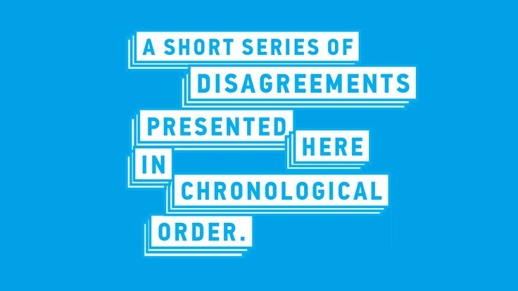 "Washington, Nov 2: Daniel Kitson's ""A Short Series of Disagreements Presented Here in Chronological Order"