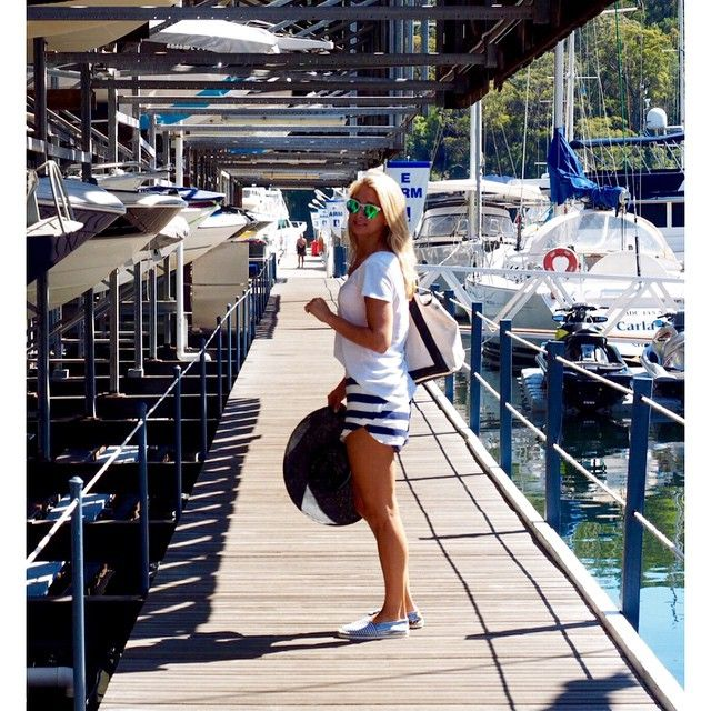 Anna Heinrich.. Kookai shorts, Ace of Something hat, #ROCeyewear and Seed Heritage shoes..