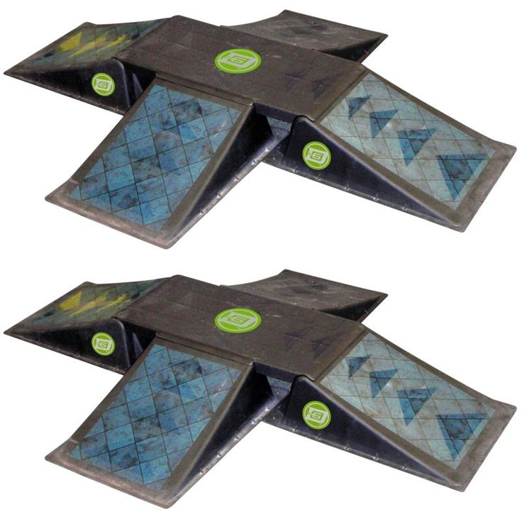 Ramps and Rails 91565: New Quad Ramp Launch Jump Skateboard Skate Park Boarder Bike Scooter Trick Stunt -> BUY IT NOW ONLY: $111.72 on eBay!