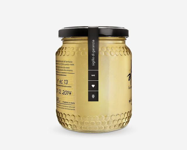 Amè Honey on Packaging of the World - Creative Package Design Gallery