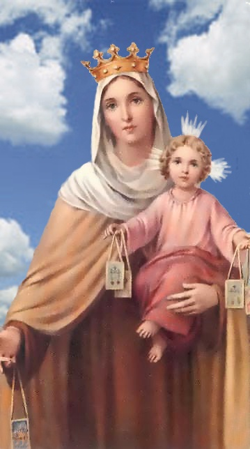 Our Lady of Mount Carmel: Blessed Mothers, Mothers Mary, Hail Mary, Blessed Virgin, Beautiful Madonna, Holy Cards, Mount Carmel, Virgin Mary, Graphics Fairies