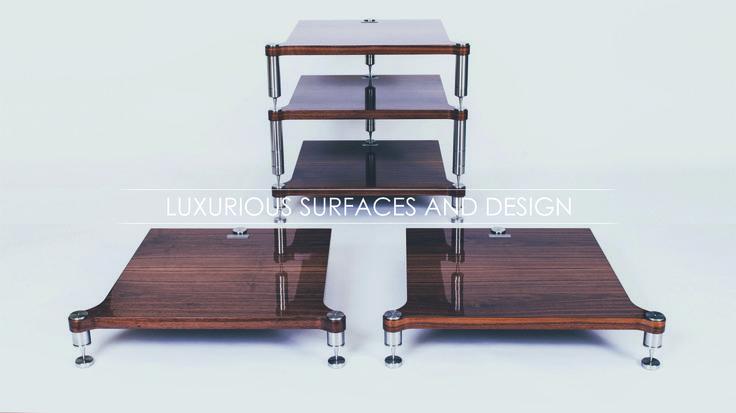 Audio rack NEO design #neohighend #alpha #tripod #doubletripod #quattron #highendspeakers #luxuryaudiorack #accuton