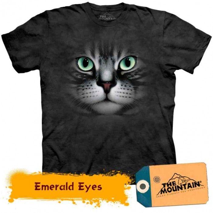 Tricouri The Mountain – Tricou Emerald Eyes