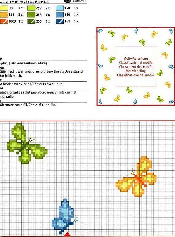 ALGUIEN TIENE GRAFICOS DE MARIPOSAS   Aprender manualidades es facilisimo.com