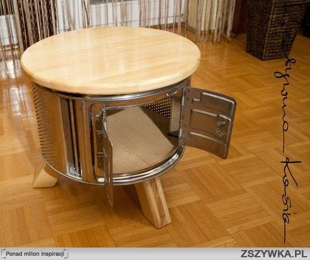 Zobacz zdjęcie stolik z bębna od pralki w pełnej rozdzielczości