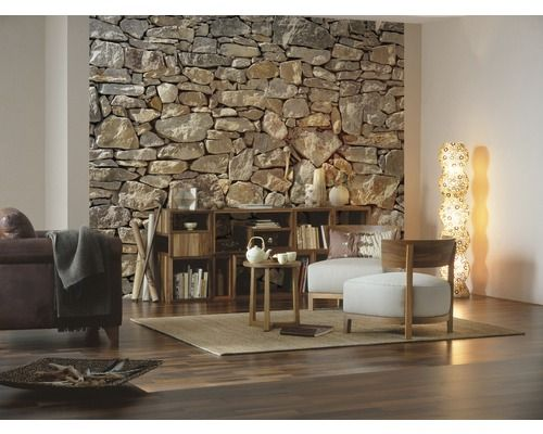 Fototapete Stone Wall 368 x 254 cm bei HORNBACH kaufen