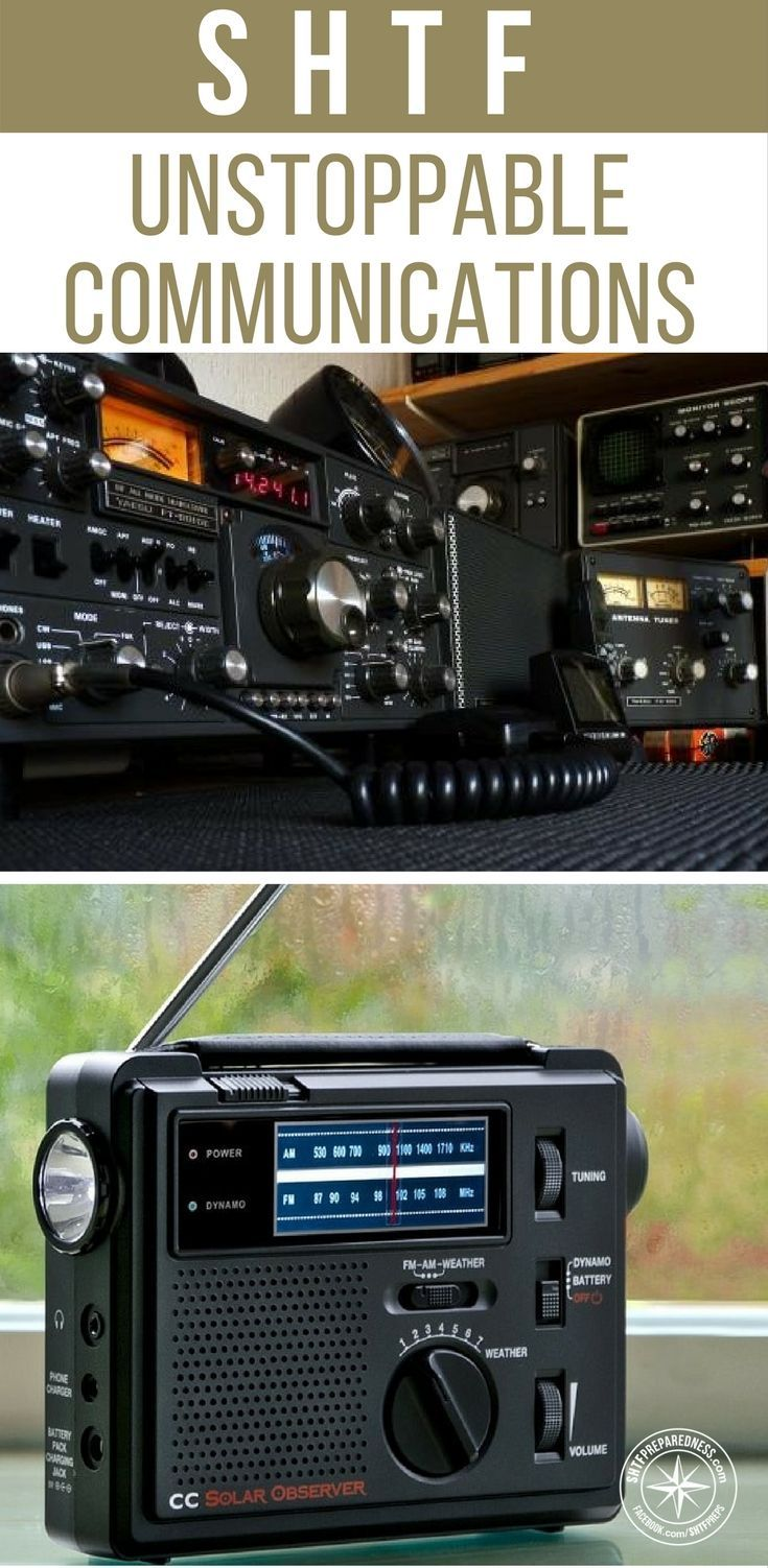 Be Heard in Any Disaster with Unstoppable Communications - You will be surprised to find that a good communications system may not be all about electronics. There are also some incredible guides linked in the article as well. These are incredibly thorough guides to handheld ham radios and police scanners