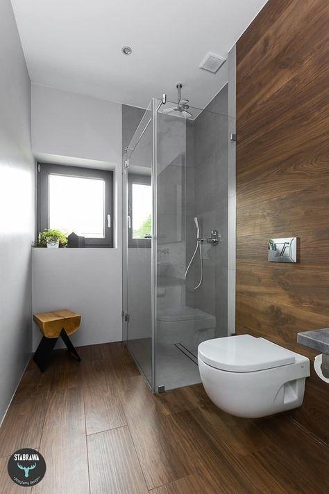 Baños de estilo escandinavo por stabrawa.pl