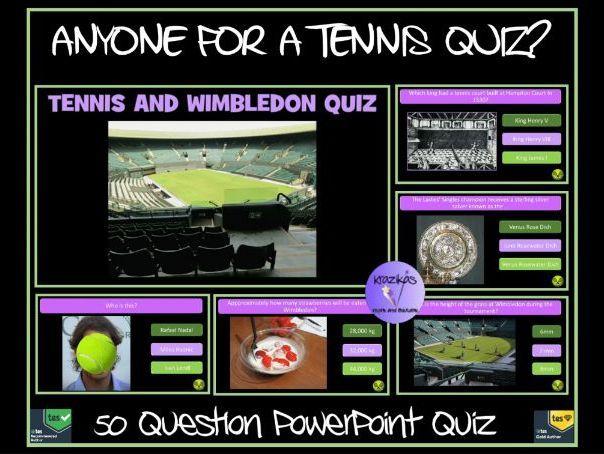 Wimbledon 2019 Tennis Quiz Wimbledon Tennis Wimbledon Tennis
