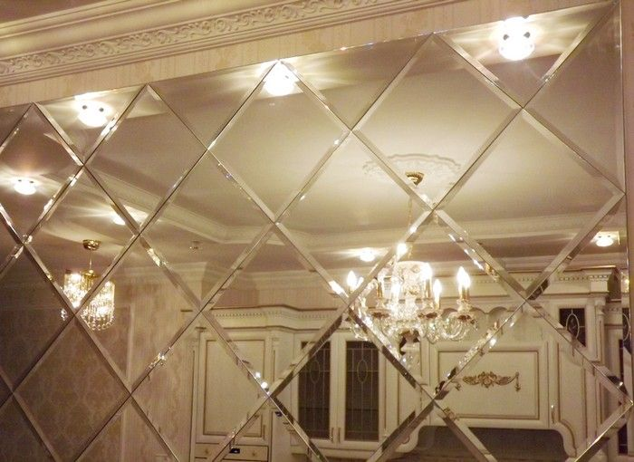 Mirror designs on walls
